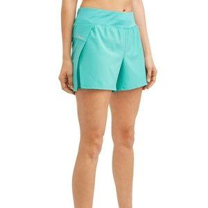 NWT Avia Women's Running Shorts Aqua Blue XXXL 22